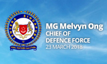 MG Melvyn Ong appointed SAF Chief of Defence Force