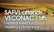 SAFVL attends VECONAC 15th General Assembly Meeting in Myanmar