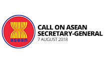 SAFVL president joins VECONAC delegation for call on ASEAN Secretary-General