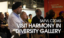 SAFVL C2D Ambassadors visit Harmony in Diversity Gallery