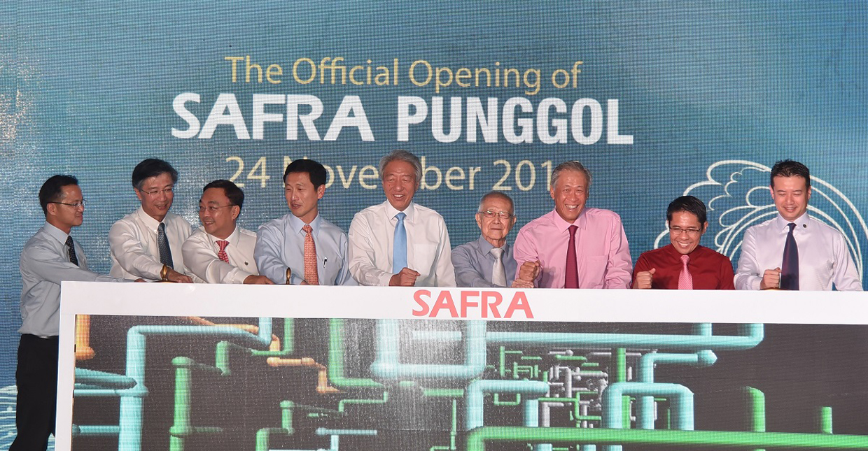 SAFVL Management Committee at SAFRA Punggol
